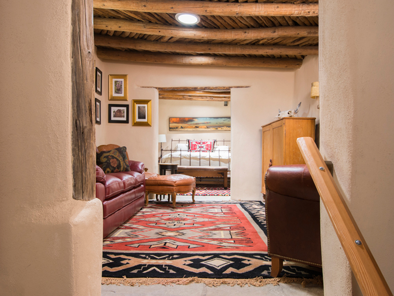 Vacation Rentals in Santa Fe NM | Living Room | Adobe Destinations