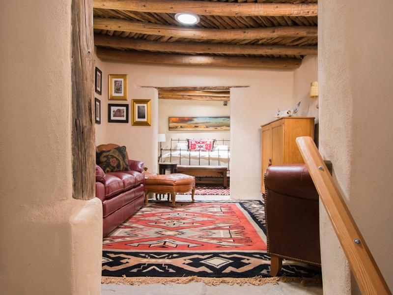 Vacation Rentals in Santa Fe NM | Living Room | Adobe Destinations
