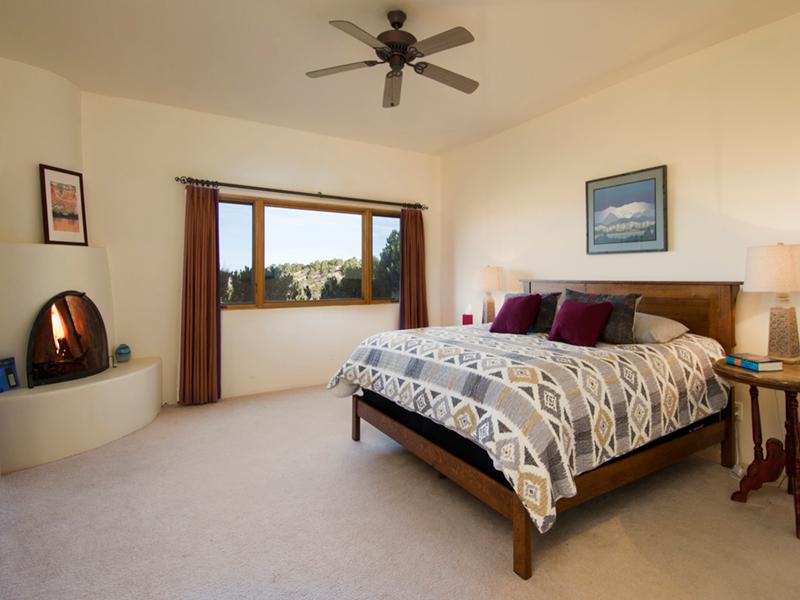 Santa Fe Home Rentals | Adobe Destinations Vacation Homes | Master Bedroom