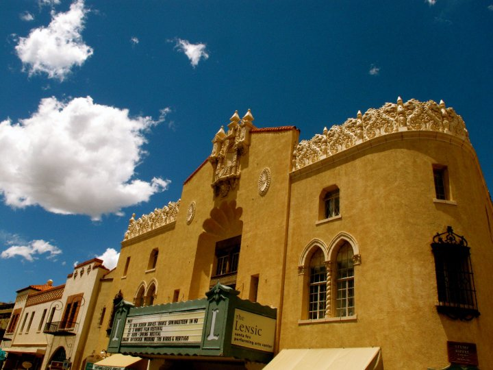 Historic Lensic Theatre | Santa Fe, NM | Adobe Destinations Vacation Rentals