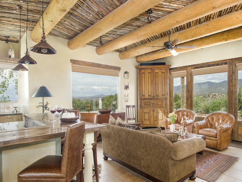 Kitchen & Living Room | Opera Vista | Vacation Homes from Adobe Destinations