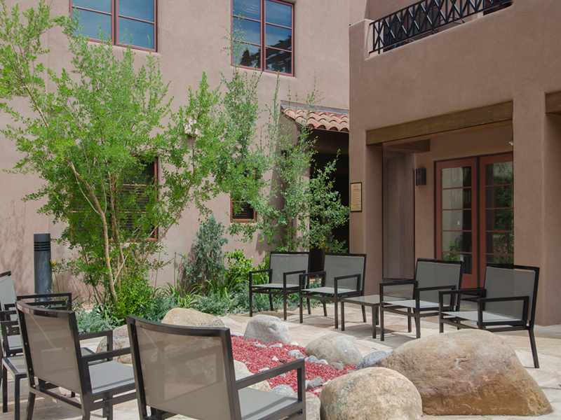 Downtown Santa Fe Plaza Rental | Adobe Destinations