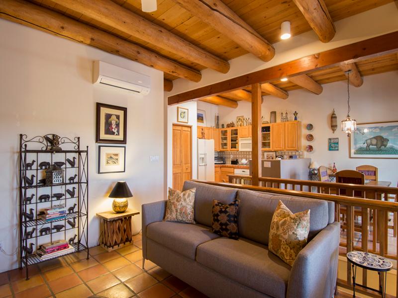 Living Room | Santa Fe Condo from Adobe Destinations