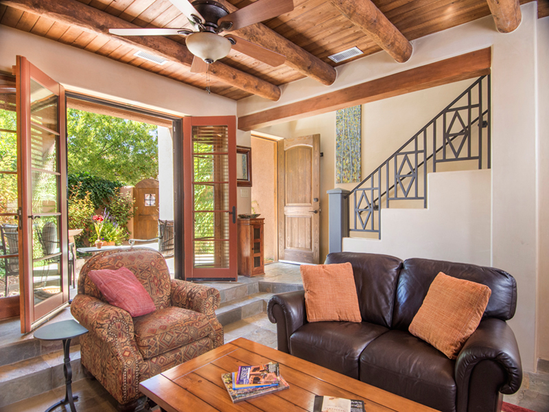 Quiet Luxury at El Carozon | Santa Fe Vacation Rentals from Adobe Destinations
