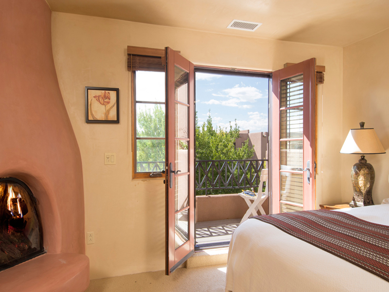 Quiet Luxury | Bedroom | Santa Fe Vacation Rentals