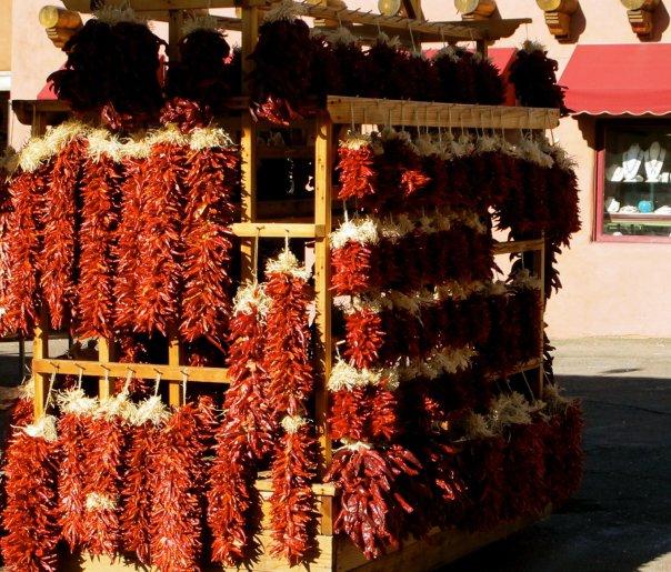 Red Chili in Santa Fe | Adobe Desitnations | Santa Fe Vacation Rentals