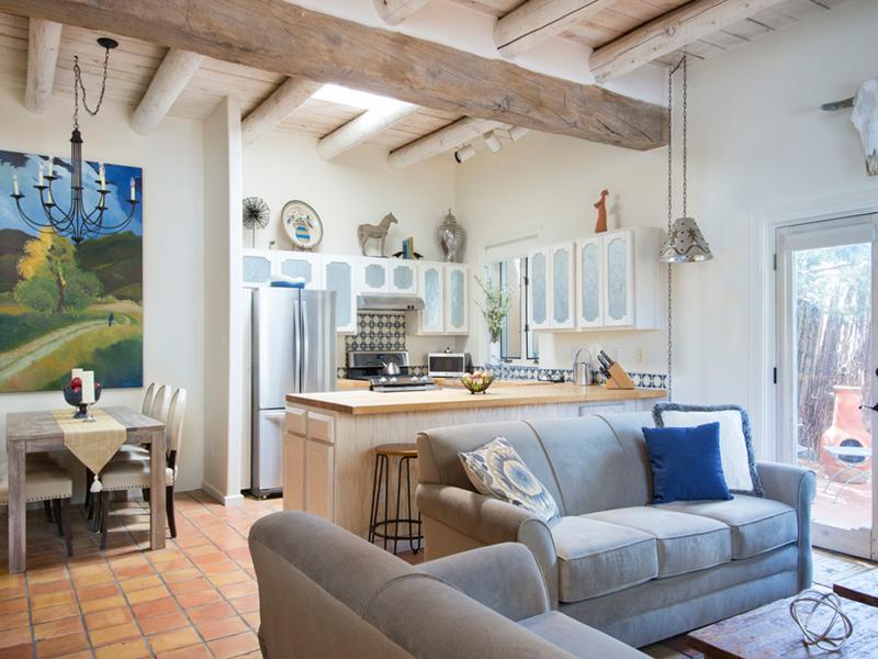 Suite 16   Santa Fe Vacation Rentals from Adobe Destinations